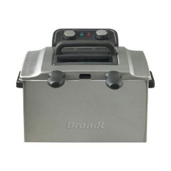 FRITEUSE BRANDT FRI2202E 1.6KG OU 2X0.8KG INOX