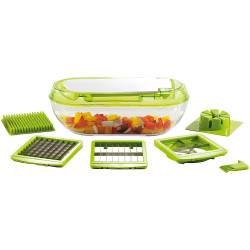 COUPE FRUITS ET LEGUMES KITCHEN ARTIST MEN318 3 GRILLES