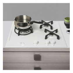 TABLE DE CUISSON GAZ WHIRLPOOL AKT653WH 3F EMAIL BLANC