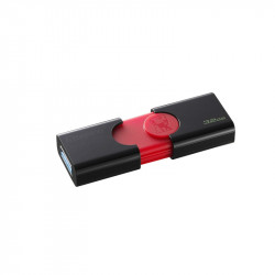 CLE USB 32GB KINGSTON 3.1 DATATRAVELER 106 ROUGE/NOIR