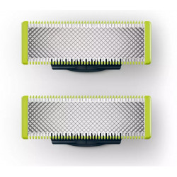 TETE DE RASOIR PHILIPS QP220/55 LOT DE 2 POUR ONE BLADE