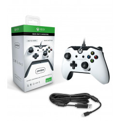 XBOX ONE - MANETTE FILAIRE PDP BLANC