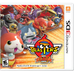 3DS - YO-KAY WATCH BLASTERS PELOTON DU CHAT ROUGE