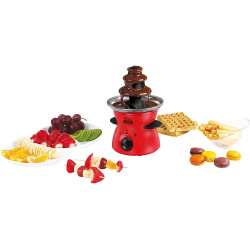 FONTAINE A CHOCOLAT LIVOO DOM335 300ML ROUGE