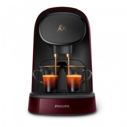 MACHINE A CAFE PHILIPS LM8012/80 L'OR BARISTA DOUBLE EXPRESSO BORDEAU