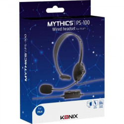 PS4 - CASQUE KONIX PS-100 MYTHICS