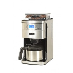 CAFETIERE/BROYEUR ISOTHERME KITCHENCHEF KCP4266 12 TASSES INOX