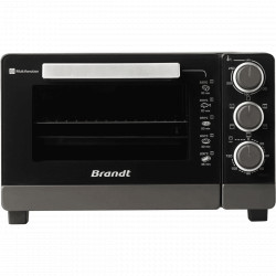 FOUR 21L POSABLE BRANDT FC215MB 1380W NOIR