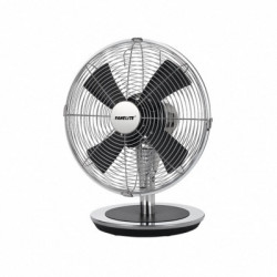 VENTILATEUR DE TABLE FANELITE ZF1215D CHROME ET NOIR