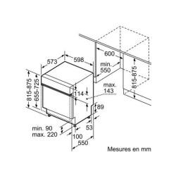 REFRIGERATEUR COMBI LIEBHERR CNEF5715 296+106L NOFROST BLUPERF INOX