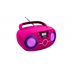 RADIO CD BIGBEN CD61RUSB LED USD FUSCHIA