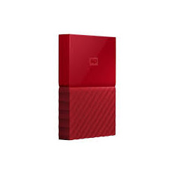 DISQUE DUR EXTERNE 3TB WESTERN DIGITAL MY PASSPORT ULTRA ROUGE