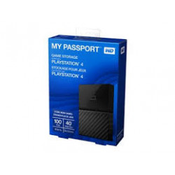 DISQUE DUR EXTERNE 2TB WESTERN DIGITAL MY PASSPORT NOIR