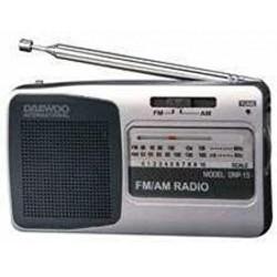 RADIO PORTABLE DAEWOO DRP15 GRIS / NOIR