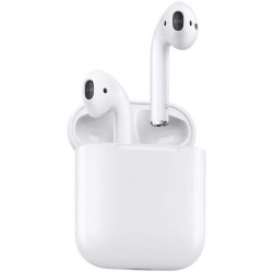 CASQUE APPLE AIRPODS BOITIER CHARGE SS FIL