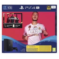 CONSOLE SONY PS4 PRO 1TO + FIFA20 + VOUCHER