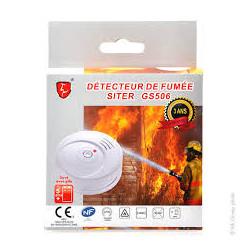 DETECTEUR DE FUMEE SITER GS506