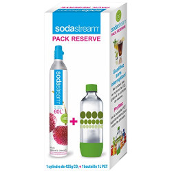RECHARGE CO2 SODATREAM + BOUTEILLE 1L 3011081