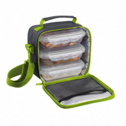 LUNCH BOX SACOCHE BE NOMAD SEP122V 3 BOITES