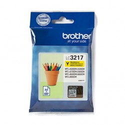 CARTOUCHE BROTHER LC3217Y YELLOW