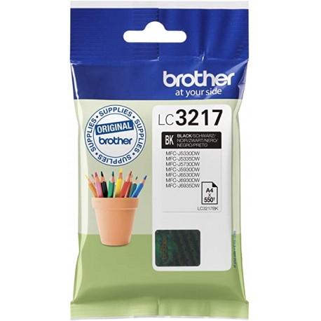 CARTOUCHE BROTHER LC3217BK NOIR