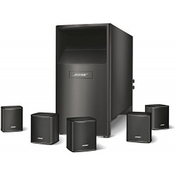 ENCEINTE MULTIMEDIA 5.1 BOSE ACOUSTIMASS6-BLACK 720960-2100 NOIR