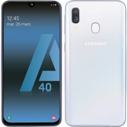 MOBILE SAMSUNG GALAXY A40 64GB 4G DS BLANC