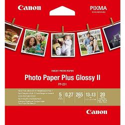 PAPIER PHOTO CANON PP201 20 FEUILLES 13X13