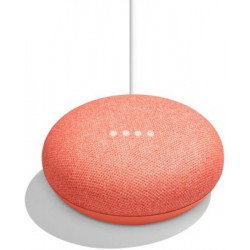 ENCEINTE INTELLIGENTE GOOGLE HOME MINI CORAIL