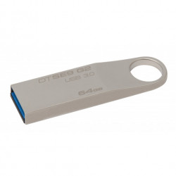 CLE USB 64G KINGSTON 3.0 DATATRAVELLER SE9 ARGENTE
