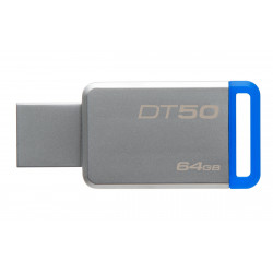 CLE USB 64GB KINGSTON 3.0 DATATRAVELLER BLEU