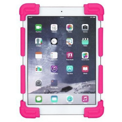 """COQUE SILICONE DEFENDER POUR TABLETTE 9-10"""" PINK"""