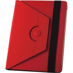 "ETUI TABLETTE 7-8"" GREENGO ORBI360 FOLIO ROUGE"