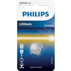 PILE BOUTON PHILIPS CR1620/00 X1