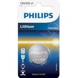 PILE BOUTON PHILIPS CR2450/10B X1