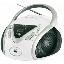 RADIO CD TREVI CMP542BLANC MP3/USB/AUX BLANC