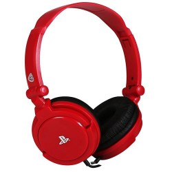 PS4 - CASQUE 4GAMERS PRO4-10 ROUGE