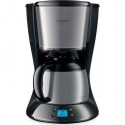 CAFETIERE ISOTHERME PHILIPS HD7479/20 DAILY 1L 12T INOX/NOIR
