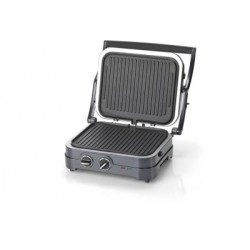 GRILL VIANDE CUISINART GR47BE 3 FONCTIONS ANTHRACITE