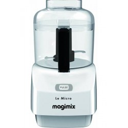 MINI HACHOIR MAGIMIX 18111F LE MICRO 0.8L BLANC