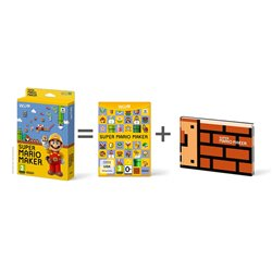 WII U - SUPER MARIO MAKER + ARTBOOK