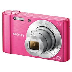 APP. PHOTO NUM COMPACT SONY DSCW810P.CE3 20MP 6X 20X ROSE