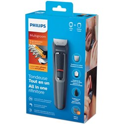 TONDEUSE RECH PHILIPS MG3757/15 CHEVEUX-BARBE AUTO70MIN